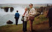 Janina Ludawska, Islandia, lata 90. XX wieku.