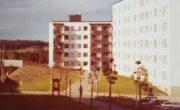 Sztokholm, dzielnica mieszkaniowa Tensta, lata 70. XX wieku.