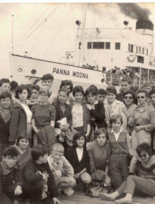 Kolonie letnie Towarzystwa Społeczno-Kulturalnego Żydów w Polsce w 1961 roku.