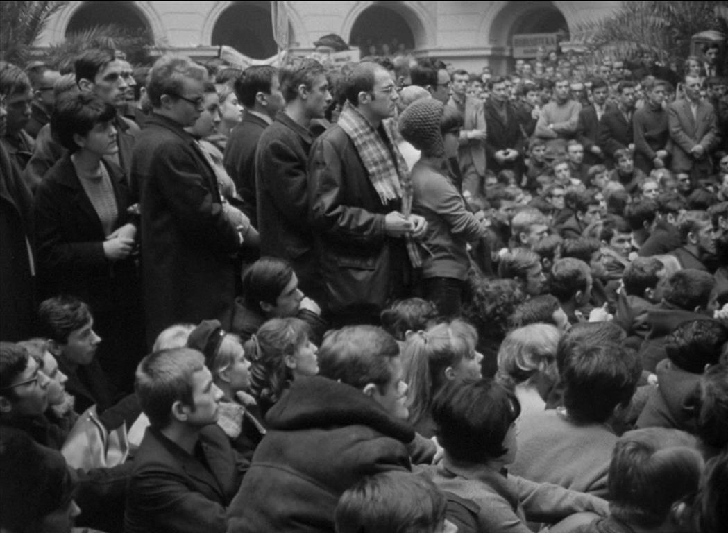 Student strike at Warsaw Polytechnic, 1968. Photo: IPN