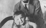 Ewelina Lipko-Lipczyńska z ojcem Janem Szymańskim, 1914