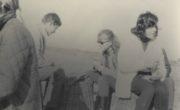 Barbara Jaszczyńska i Barbara Brandys na wykopkach w 1966 roku.